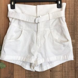 H&M high waist shorts size 6